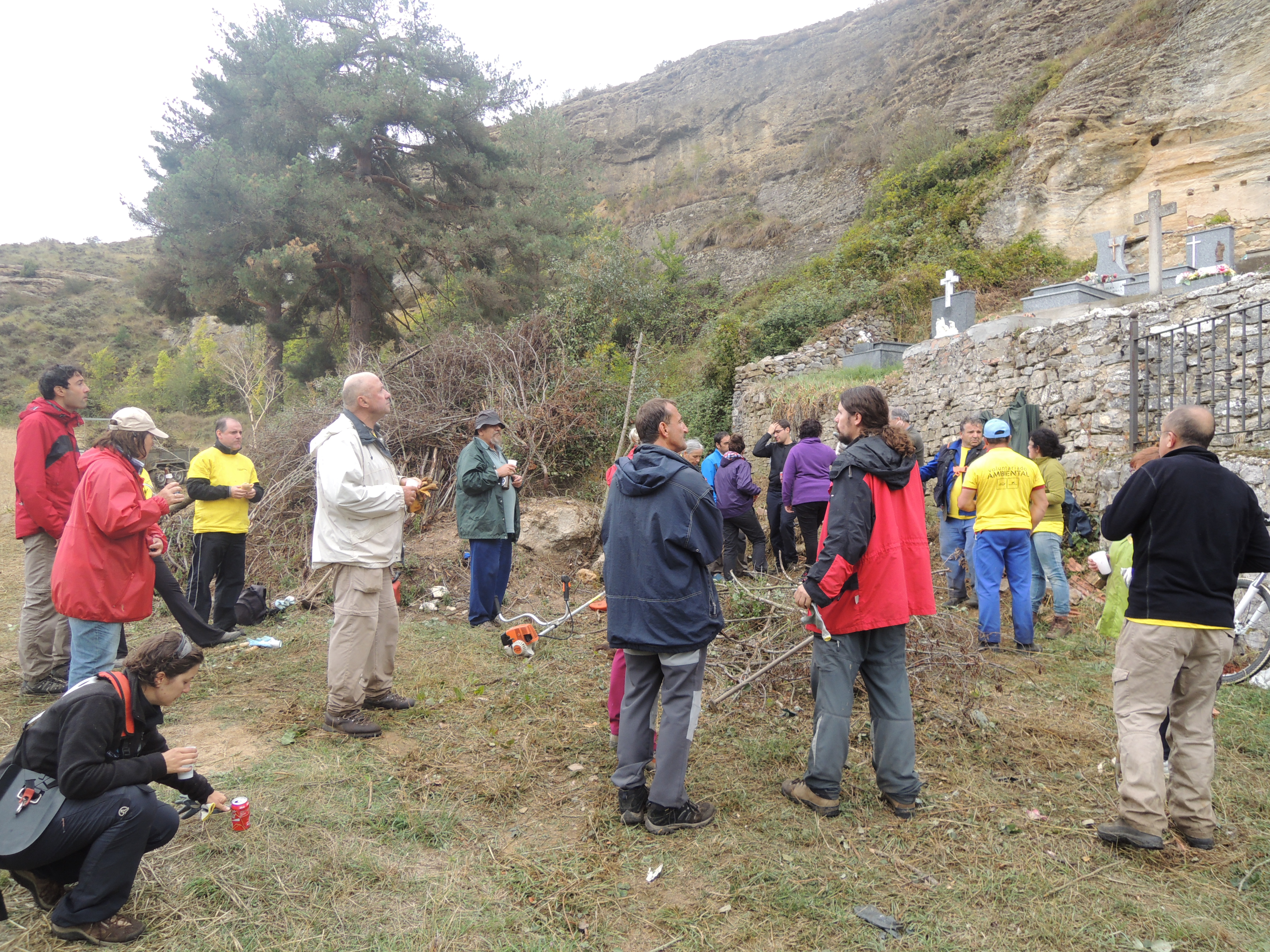 Voluntariado ambiental en Olleros