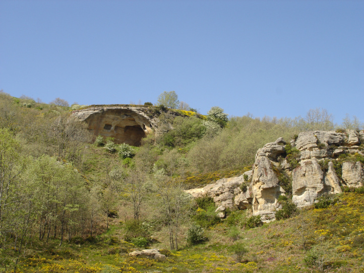 Conjunto eremítico del Cuevatón en Cezuda